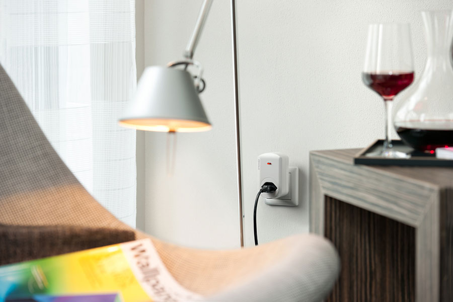 devolo Home Control Urlaub - Messsteckdose