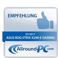 Asus ROG Strix X299-E Gaming Award
