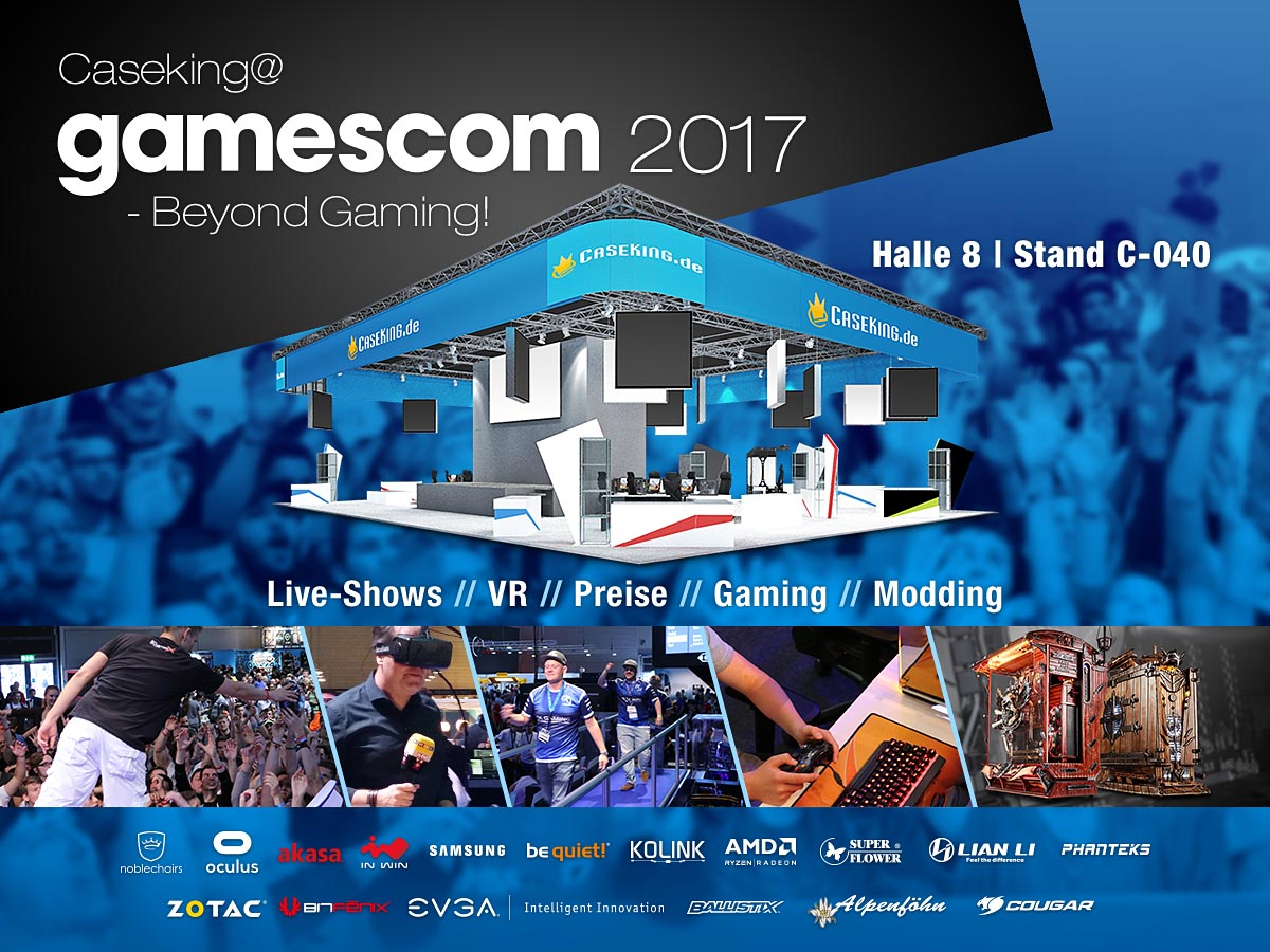 Caseking Gamescom 2017 Stand