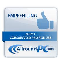 Corsair Void Pro RGB USB Award
