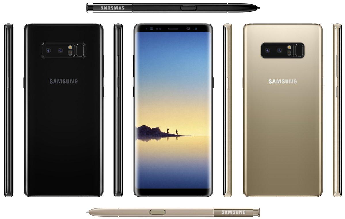 Samsung Galaxy Note 8 Produktfoto