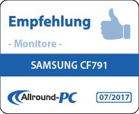 Samsung CF791 Award