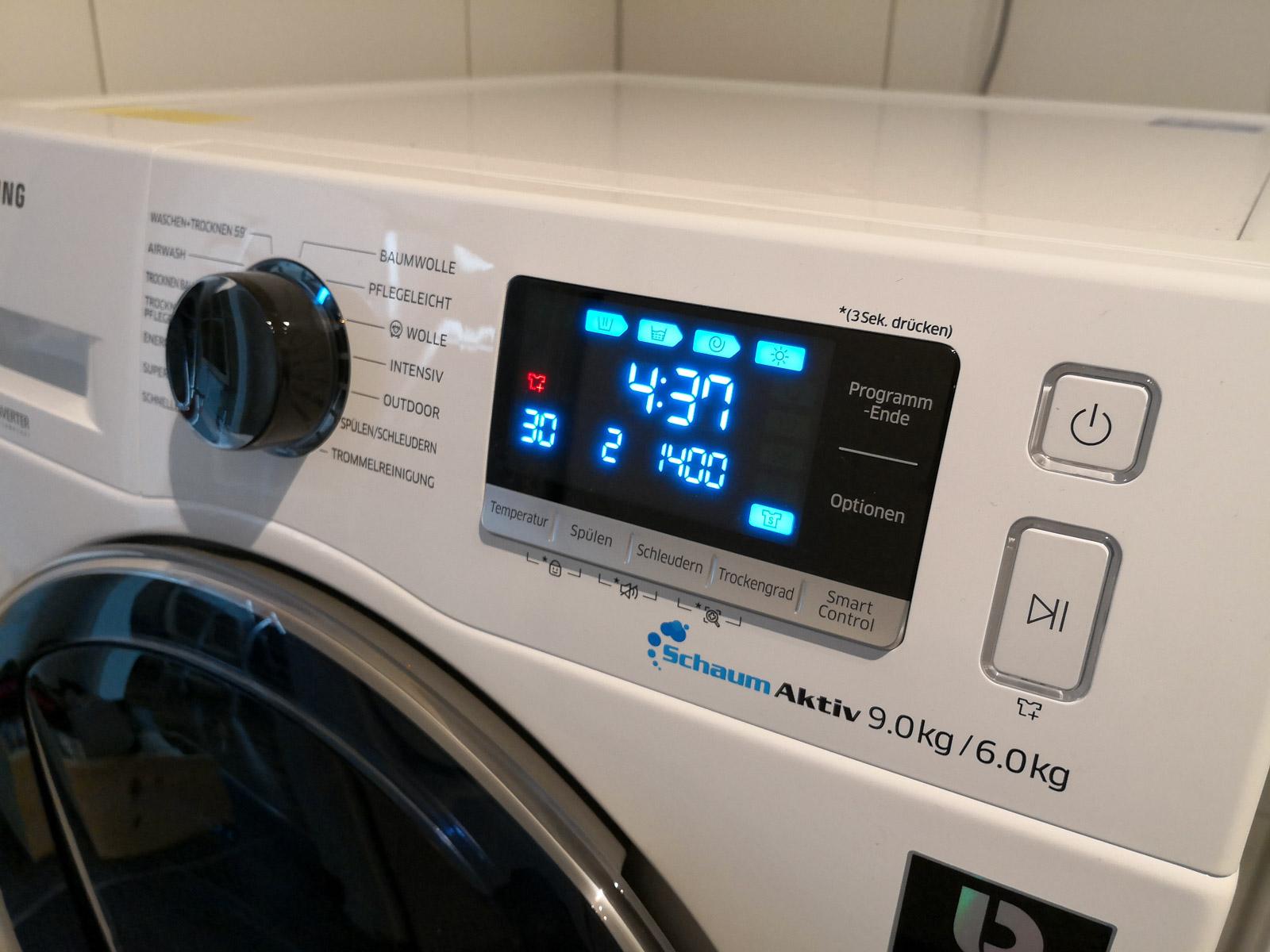 Samsung-Waschtrockner-WD6500-Frontpanel