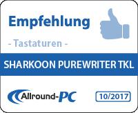 Sharkoon PurerWriter TKL Award