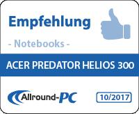 Acer Predator Helios 300 Award
