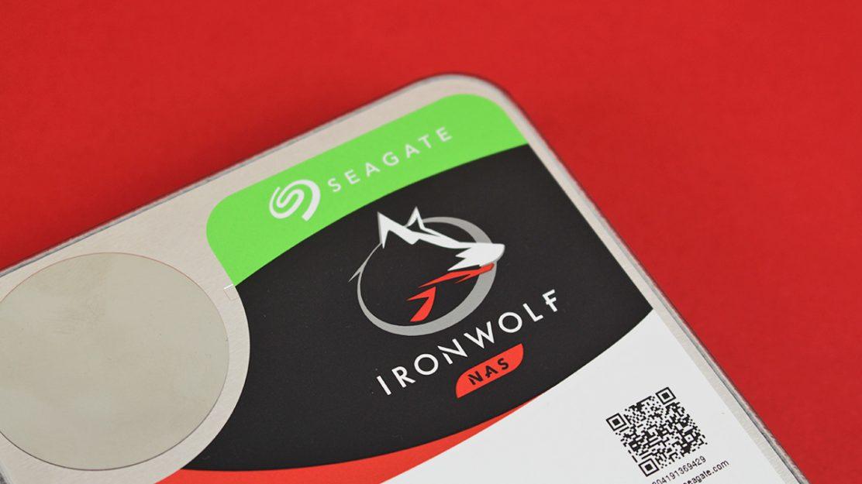 Seagate Ironwolf Startbild