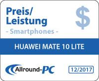 Huawei Mate 10 Lite Award