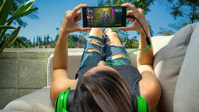 Razer Phone Startbild