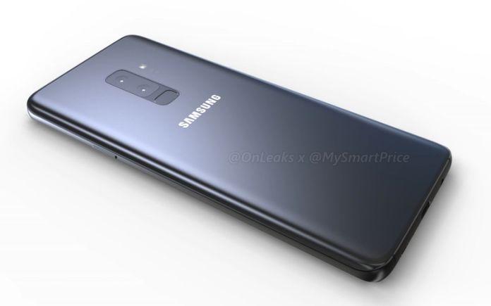 Samsung Galaxy S9 Render Rückseite