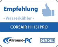 Corsair H115i Pro Award