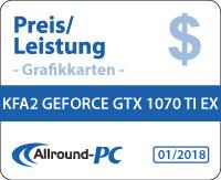 KFA2 GTX 1070 Ti EX Award