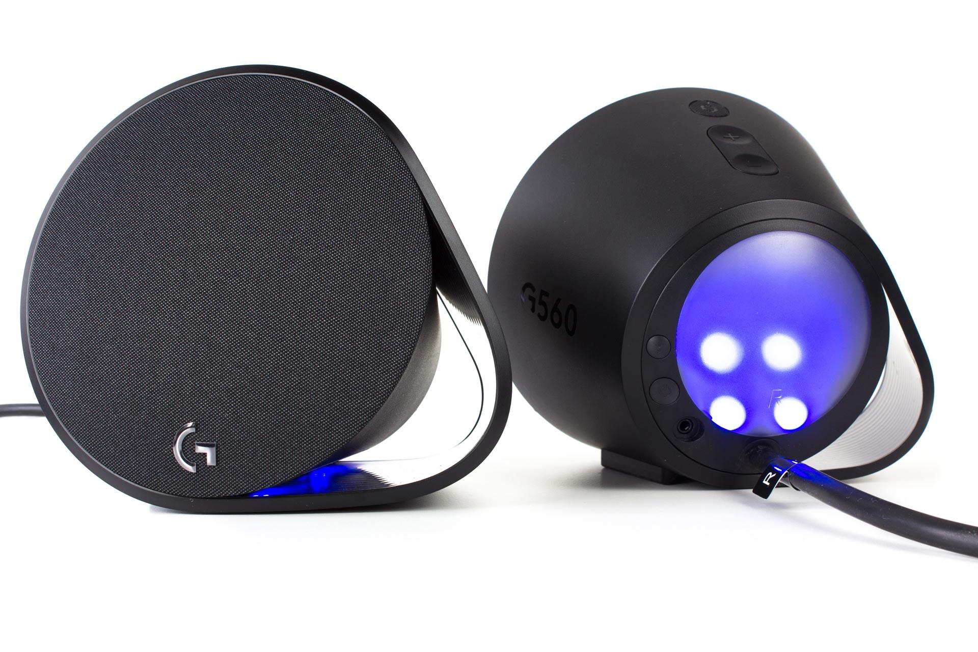 Test Logitech G560 Gaming Lautsprecher Lightsync Pc Speaker Vorne Und Hinten