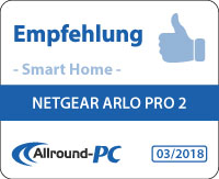 Netgear Arlo Pro 2 Award