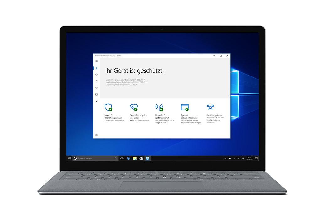 Windows S Beispielbild