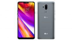 LG G7 ThinQ Vorder- und Rueckseite