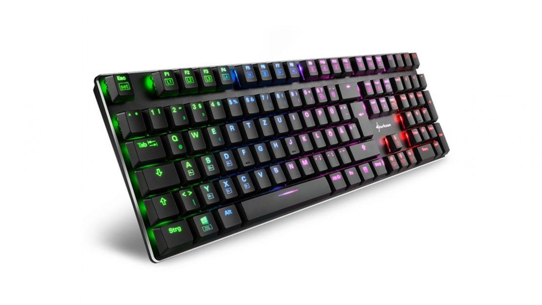 Sharkoon PureWriter RGB seitlich