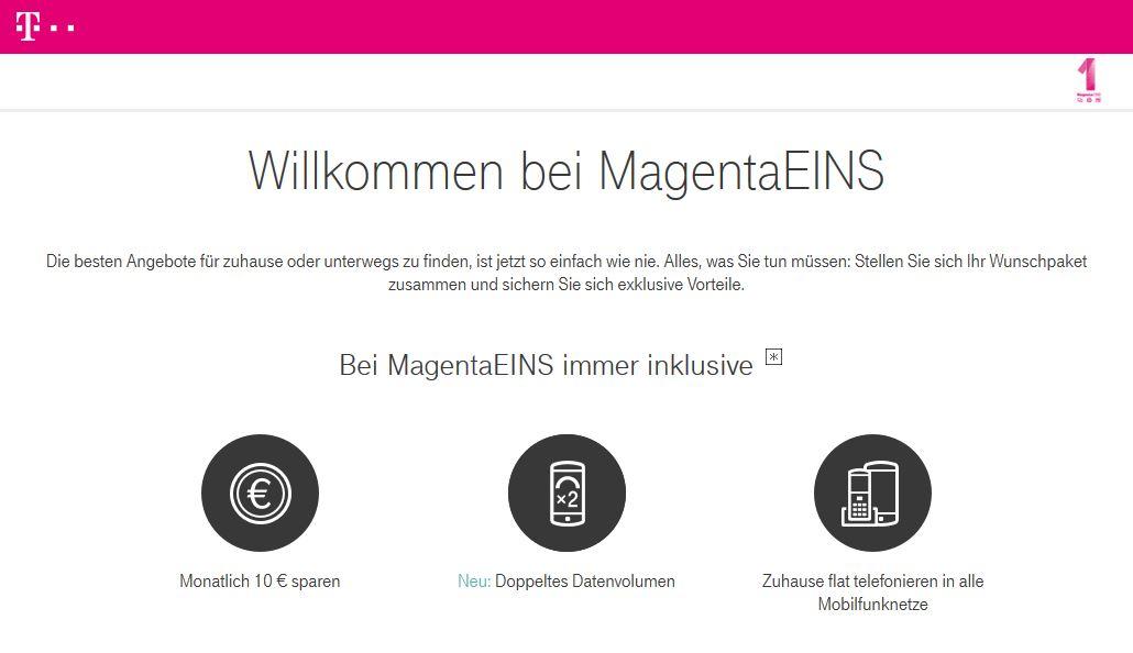 Telekom MagentaEins