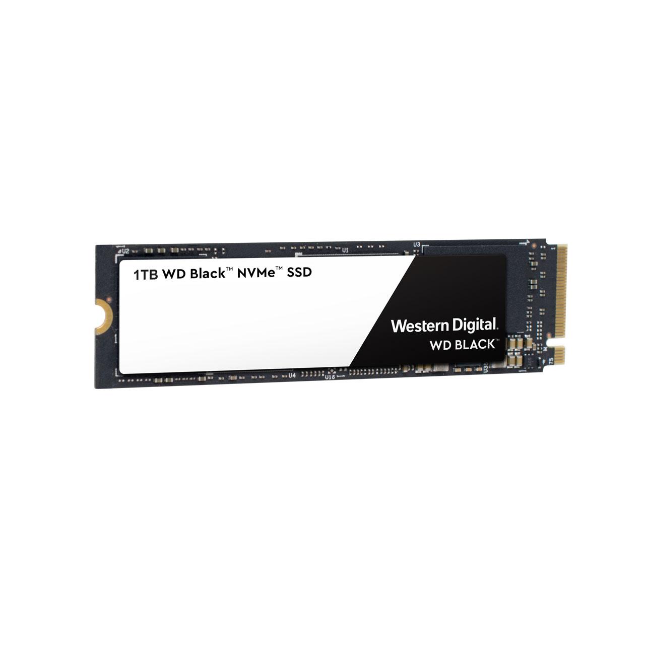 Western Digital 3D Black NVMe SSD