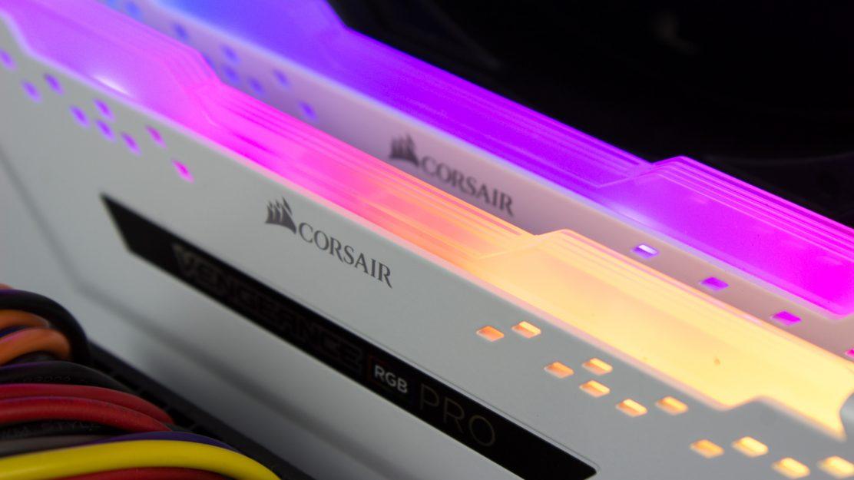 Corsair Vengeance RGB Pro Beleuchtung Nah