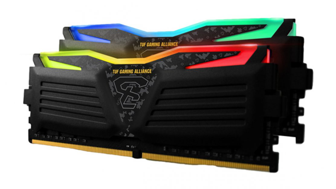 GeIL Super Lure RGB Series TUF Gaming Alliance Arbeitsspeicher Dualkit