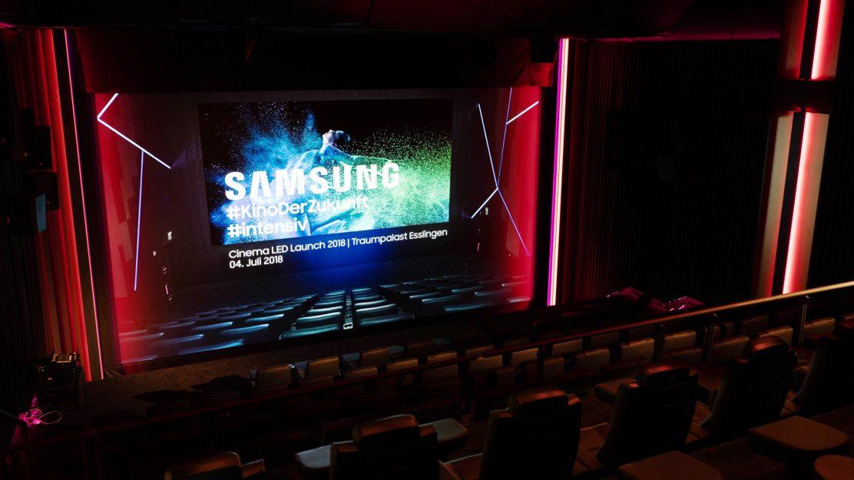 Samsung Cinema LED Screen Esslingen Beitragsbild