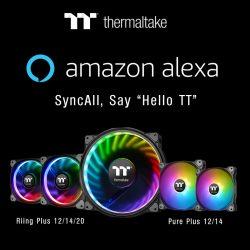 Thermaltake RGB Produkte unterstützen Amazon Alexa