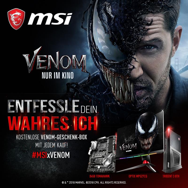 MSI Venom Geschenkbox