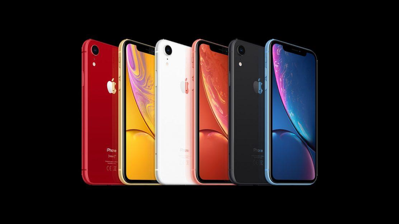Apple iPhone XR Farben