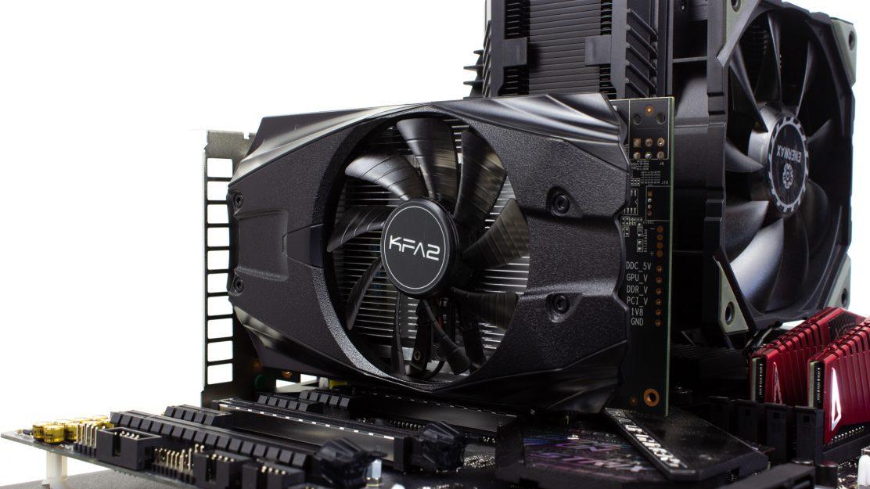 KFA2 GeForce GTX 1050 Ti Eingebaut 1