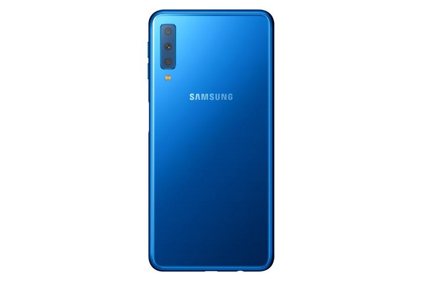 Samsung Galaxy A7 Hinten