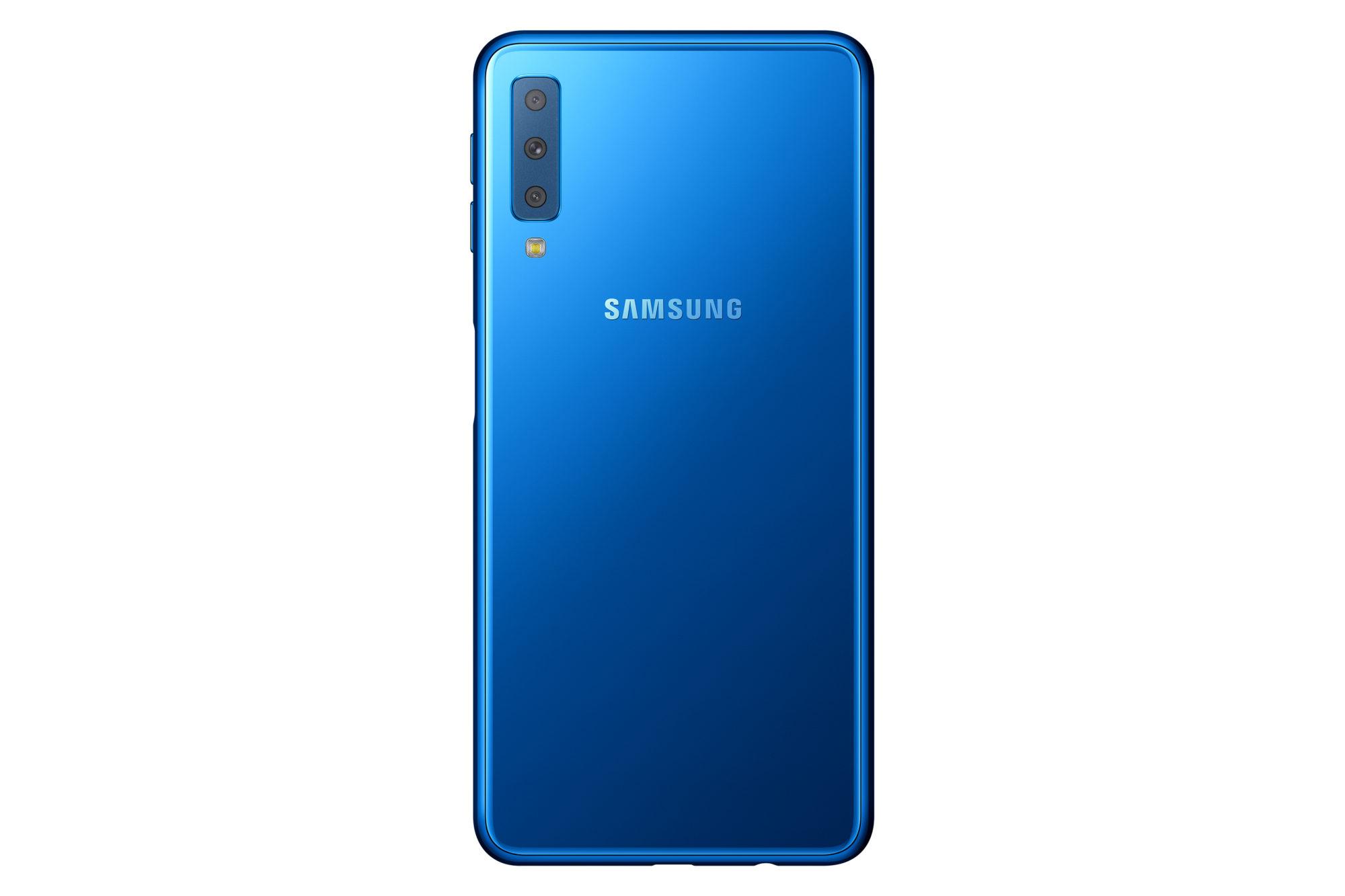 Galaxy A7 Samsungs Erstes Smartphone Mit Drei Hauptkameras Samsung Hinten