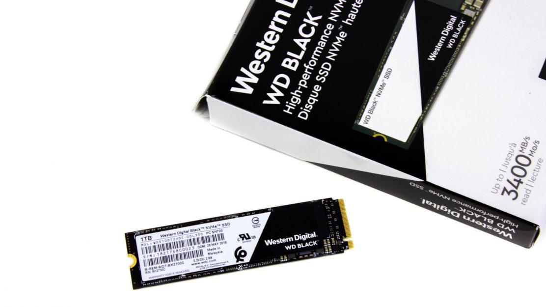 WD Black NVME M2 SSD 1TB - Verpackung