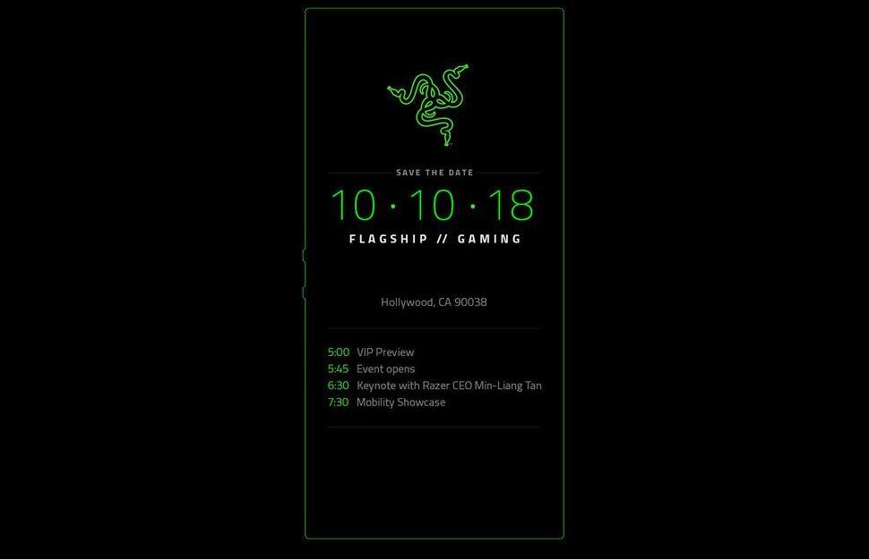 Razer Phone 2 Einladung