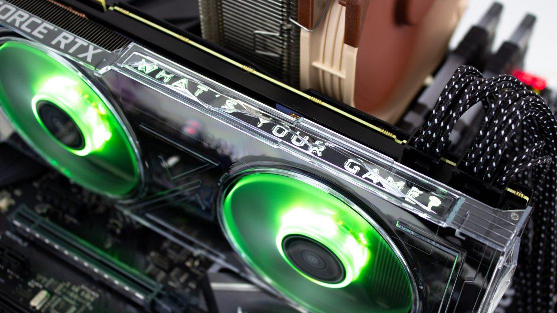 KFA2 GeForce RTX 2080 OC LED Beleuchtung Gruen