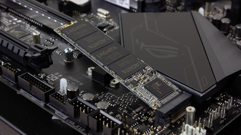 Adata-XPG-SX6000-Pro-SSD im M.2 Slot