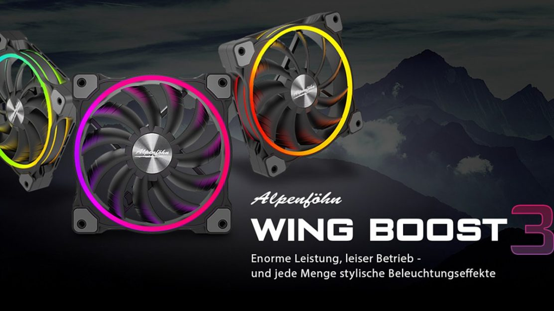 Alpenföhn Wing Boost 3 RGB