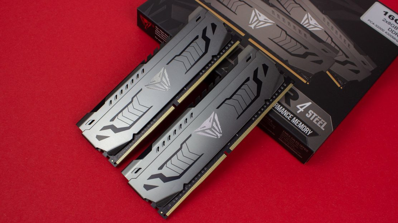 Patriot Viper Steel DDR4 Verpackung