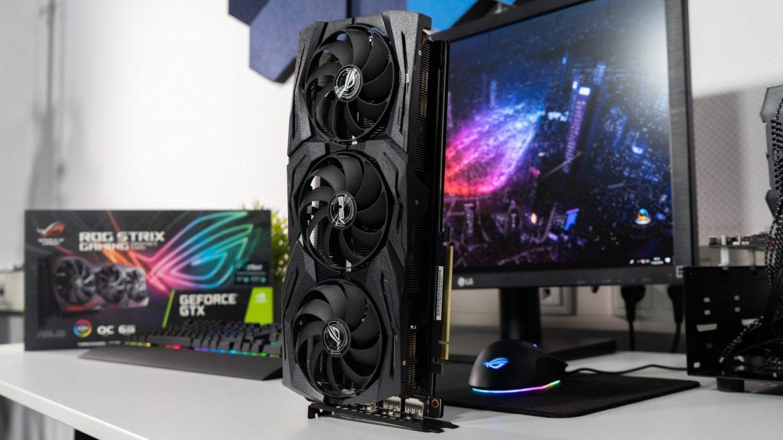 Asus ROG Strix GeForce GTX 1660 Ti Beitragsbild