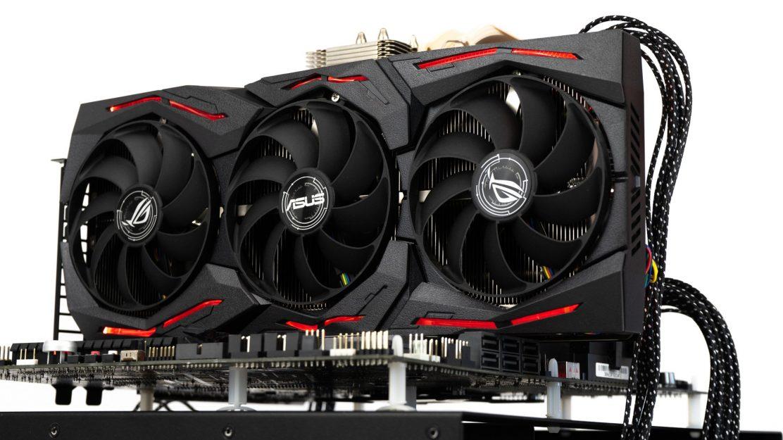 Asus ROG Strix GeForce GTX 1660 Ti Beleuchtung