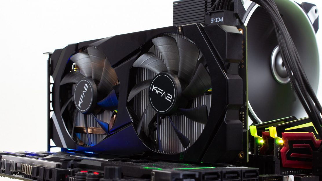 KFA2 GeForce RTX 2060 Benchtable