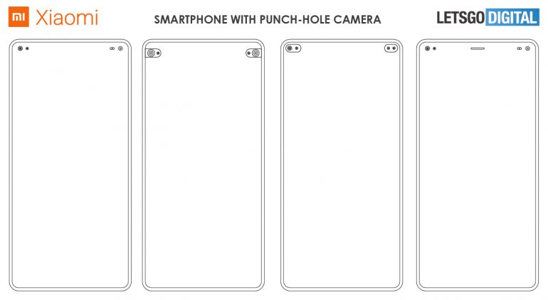 Xiaomi Punch Hole Kameras