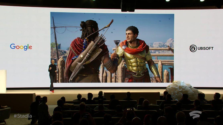 Google Stadia Assassins Creed