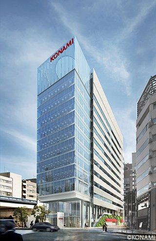 Konami Creative Center Ginza Seitansicht