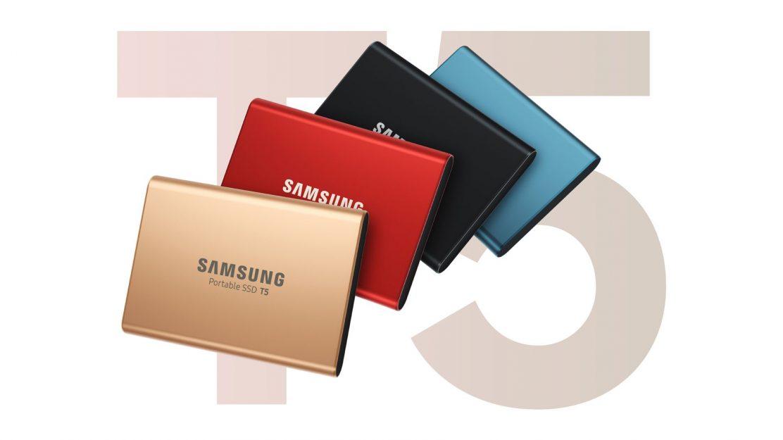 Samsung Portable SSD T5 Beitragsbild