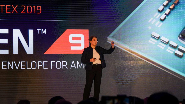 AMD Ryzen 9 3900X und AMD CEO Dr. Lisa Su