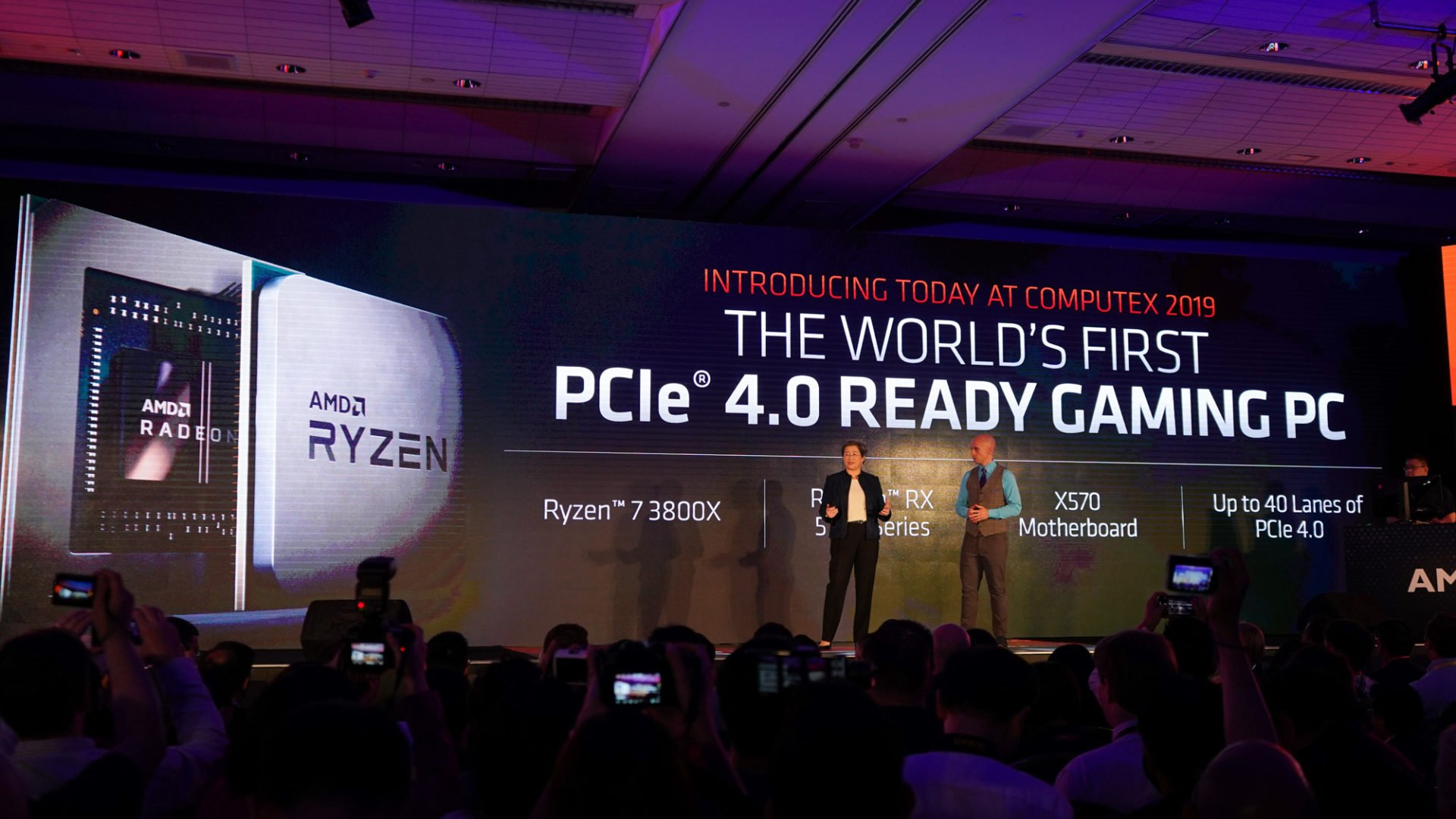 Die neuen AMD Ryzen Prozessoren werden die weltweit erste Plattform mit PCIe 4.0 sein.