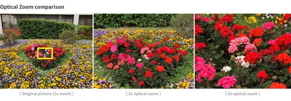 Samsung fünffach Zoom Beispiel