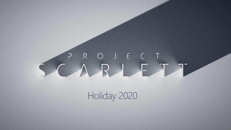 Xbox Scarlett - Holiday 2020