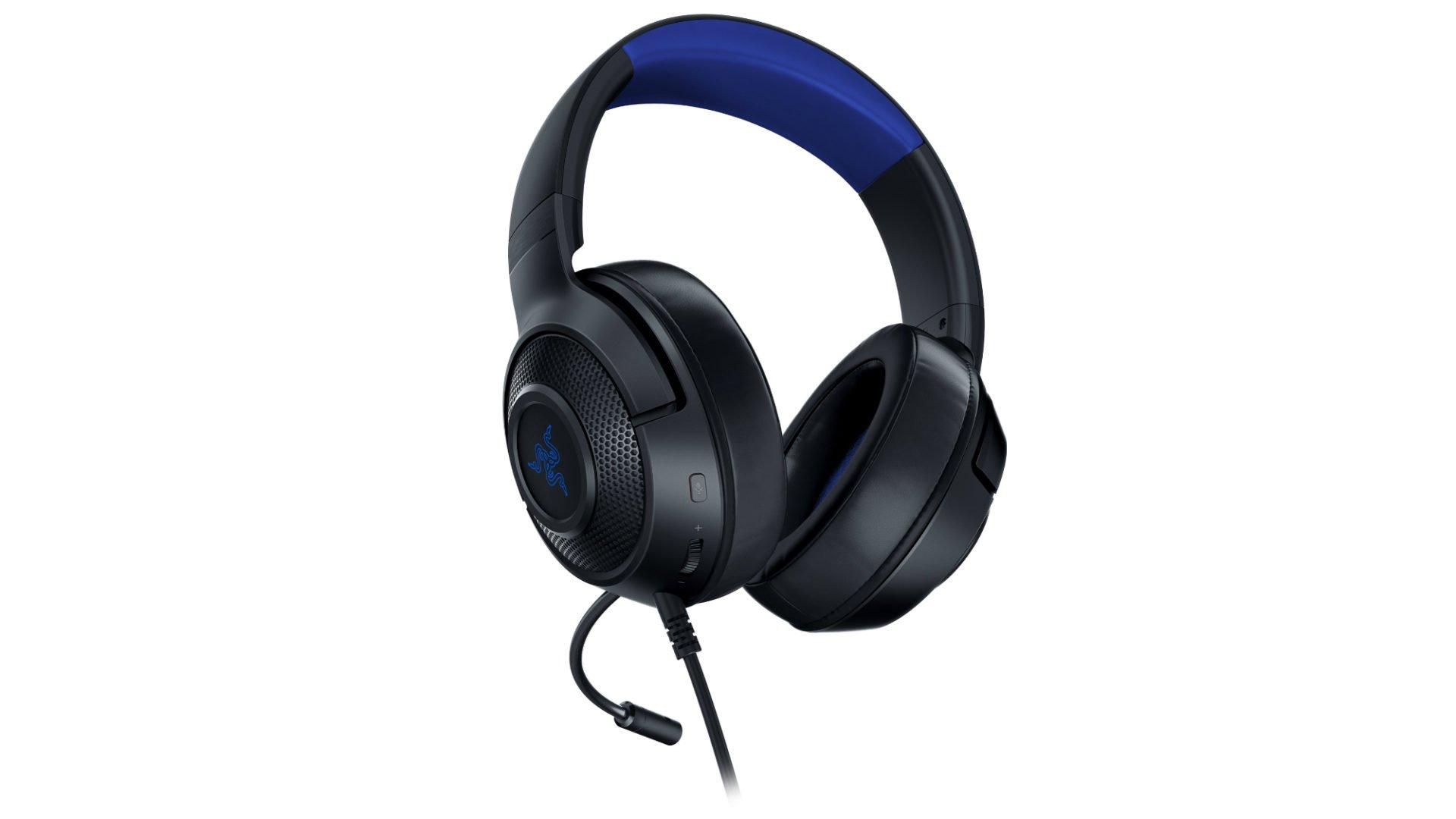 razer kraken x gaming headset mit 7 1 surround sound f r. Black Bedroom Furniture Sets. Home Design Ideas