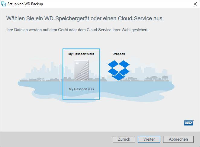 WD Backup Software